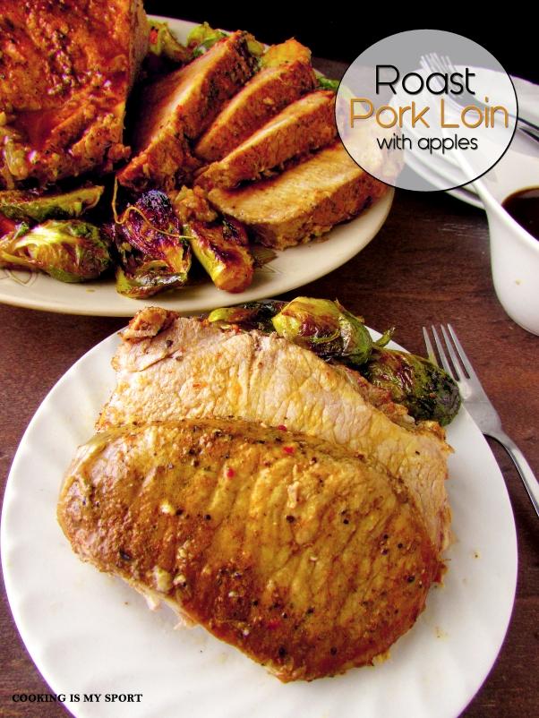 Roast Pork Loin with Apples3