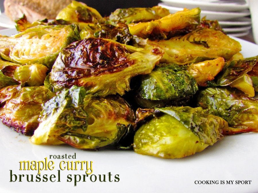 Maple Curry Brussel Sprouts5