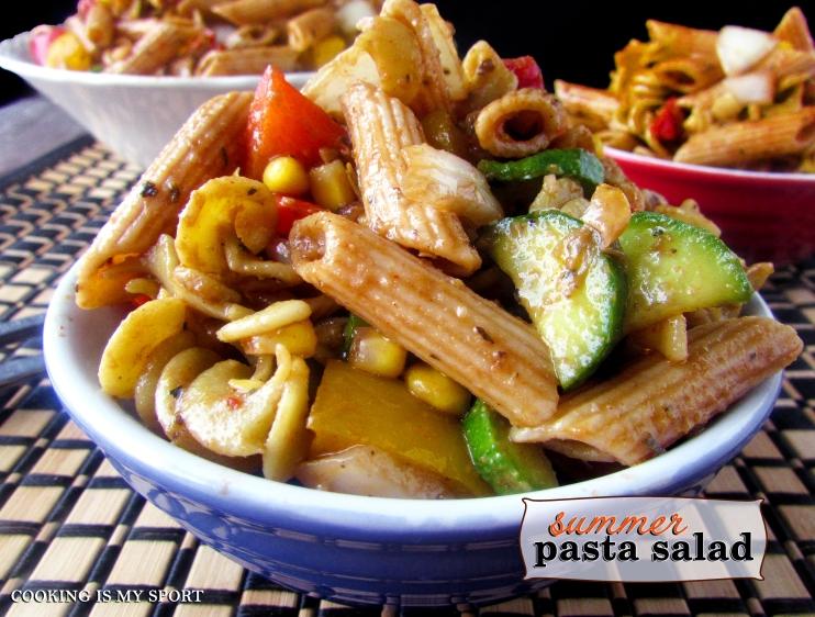 Summer Pasta Salad1