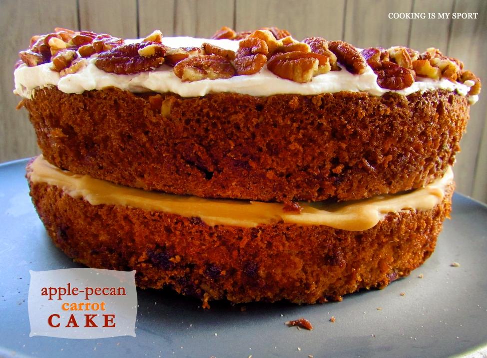 Apple Pecan Carrot Cake1