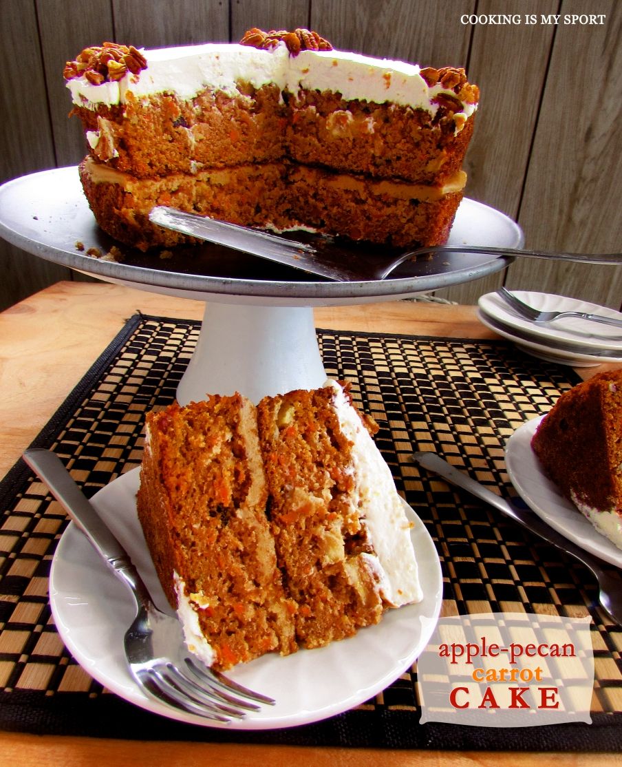 Apple Pecan Carrot Cake2