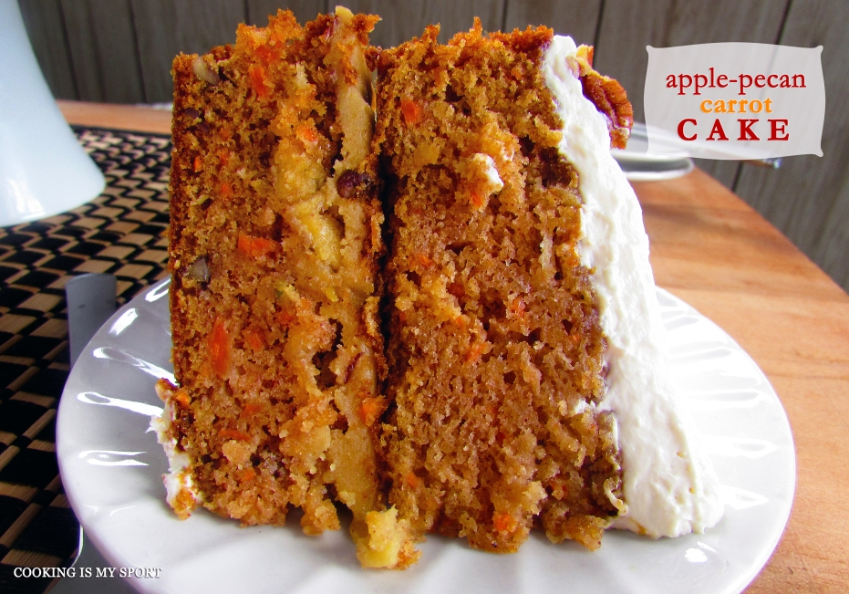 Apple Pecan Carrot Cake3