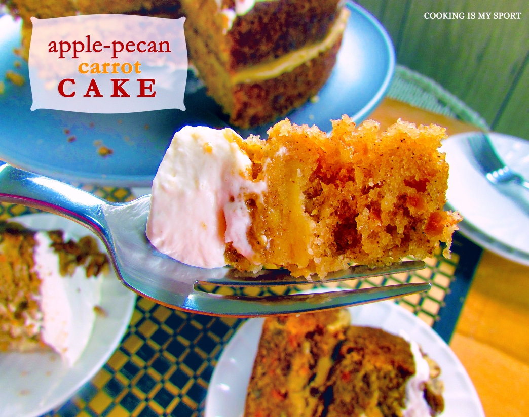 Apple Pecan Carrot Cake5