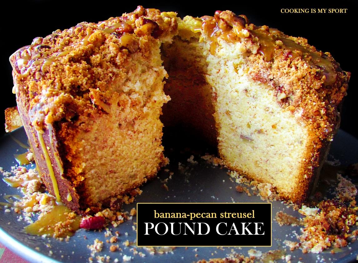Banana Pecan Streusel Pound Cake2