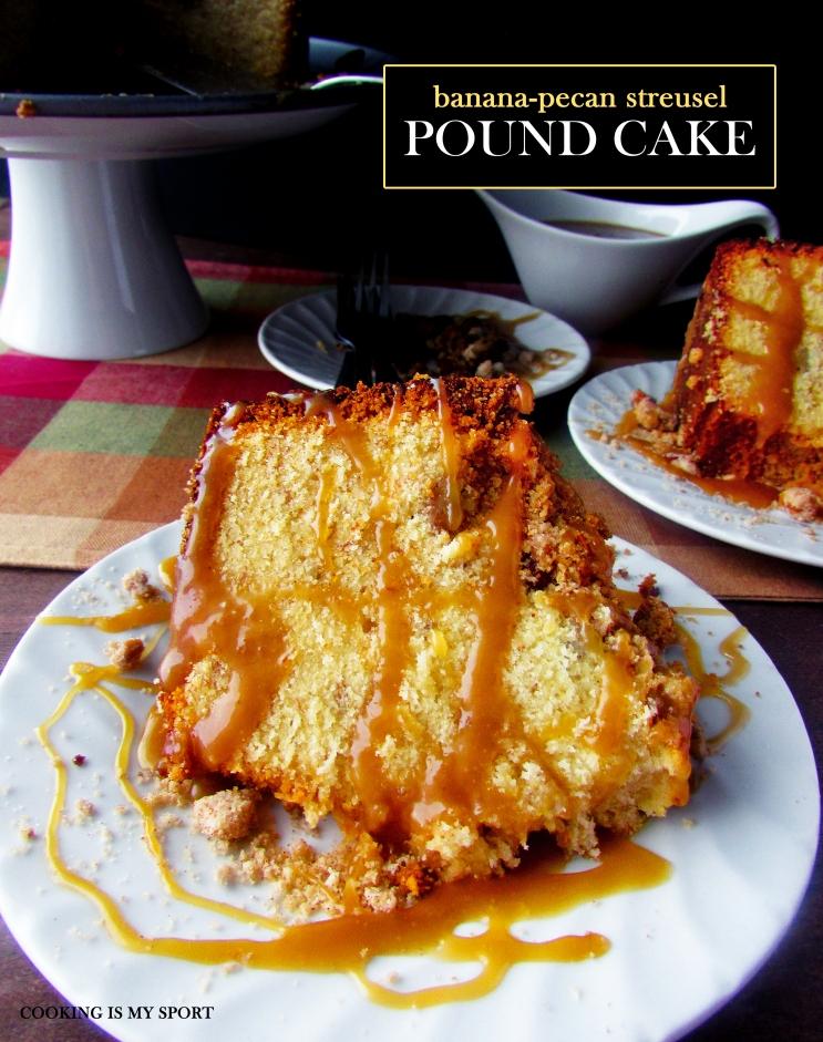 Banana Pecan Streusel Pound Cake4