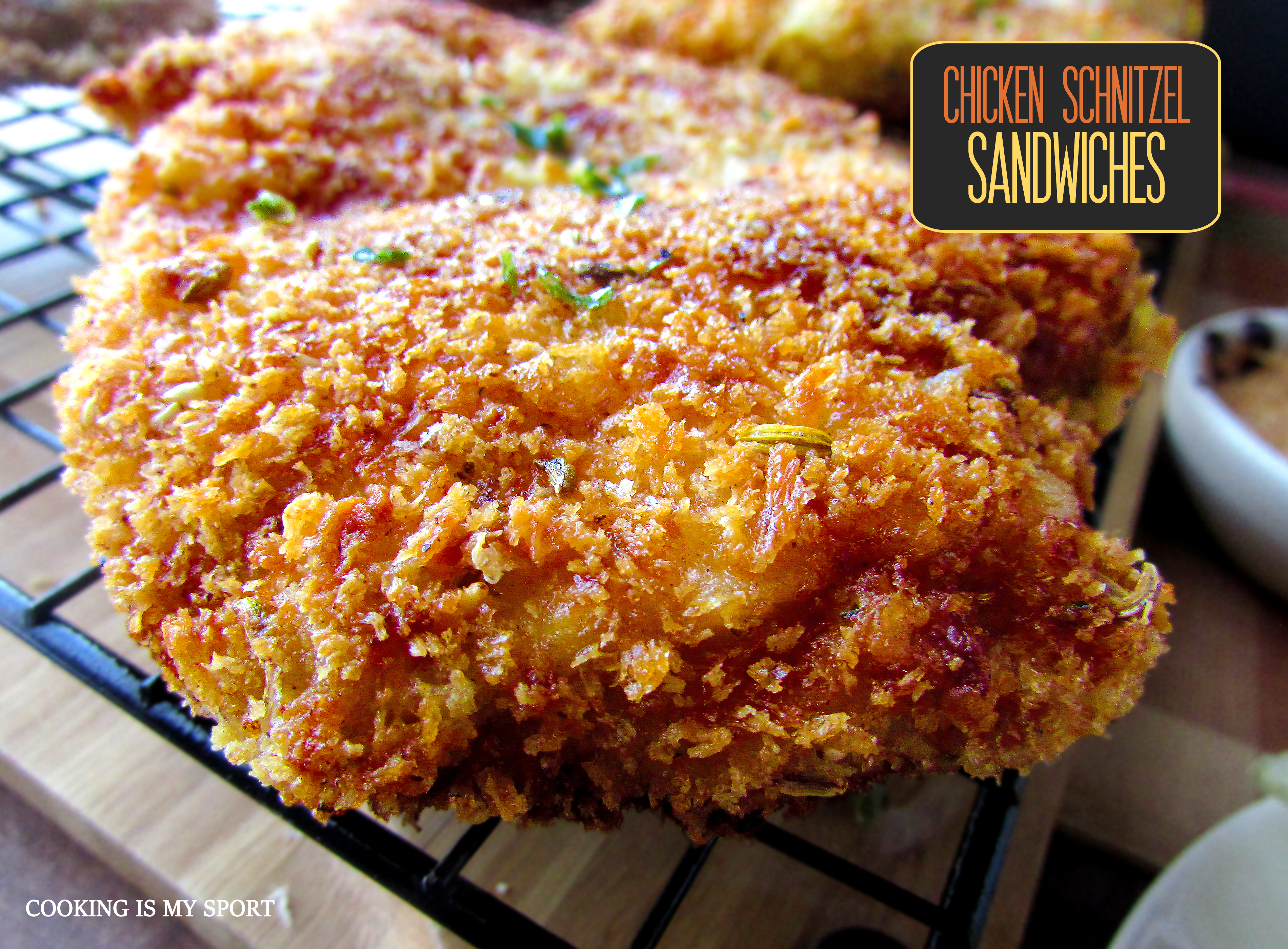 Chicken Schnitzel Sandwiches5