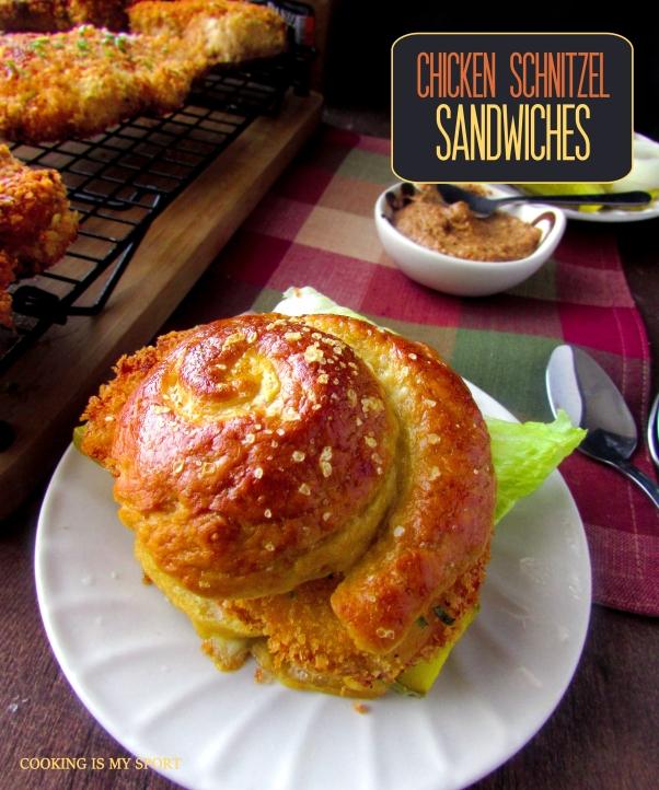 Chicken Schnitzel Sandwiches6