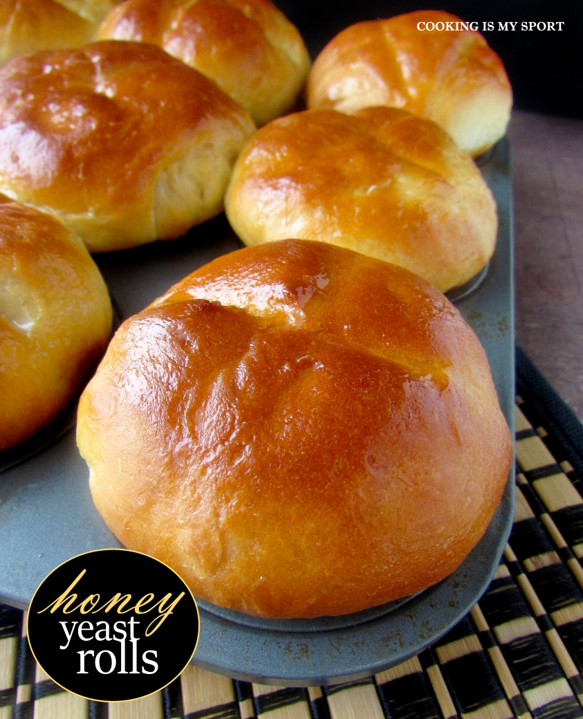 Honey Yeast Rolls1
