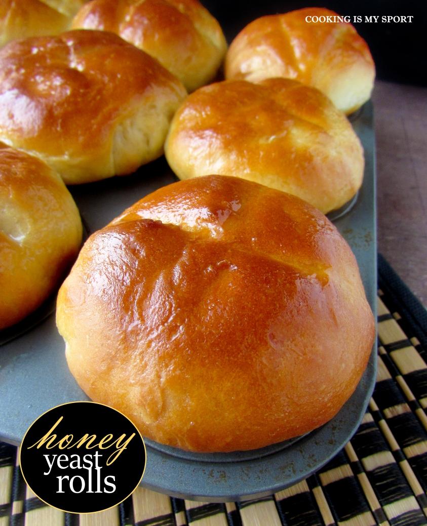Honey Yeast Rolls1