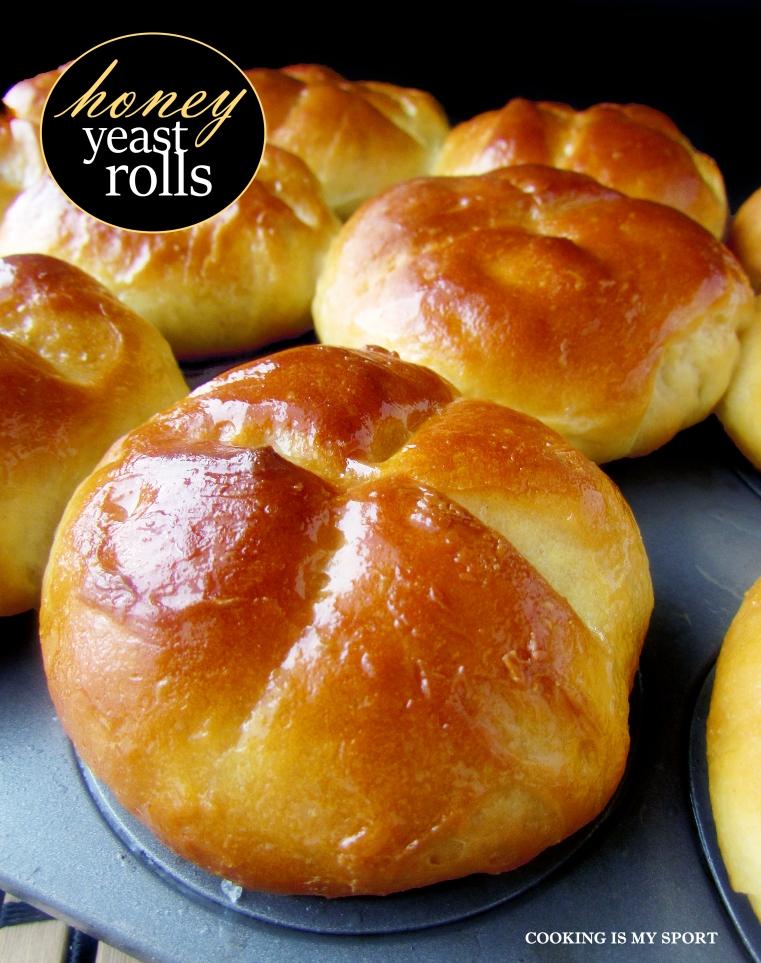 Honey Yeast Rolls2