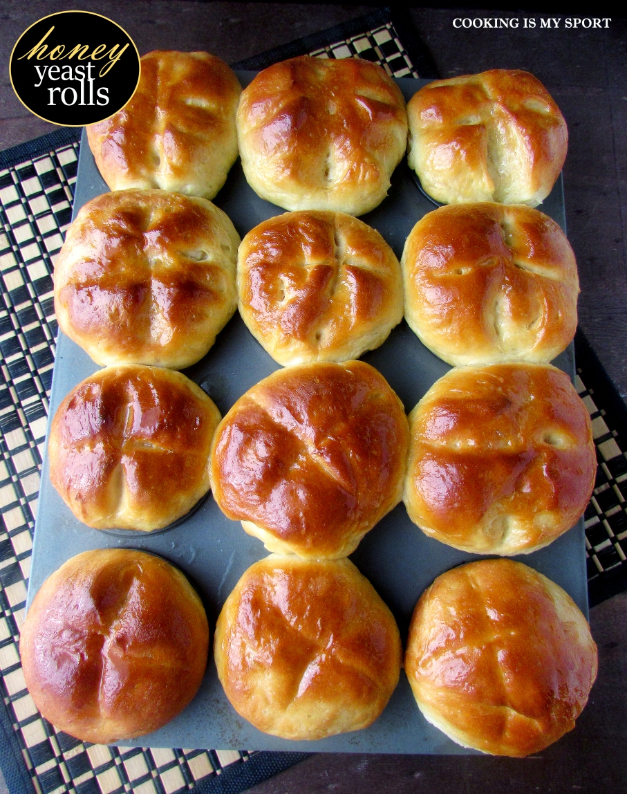 Honey Yeast Rolls3