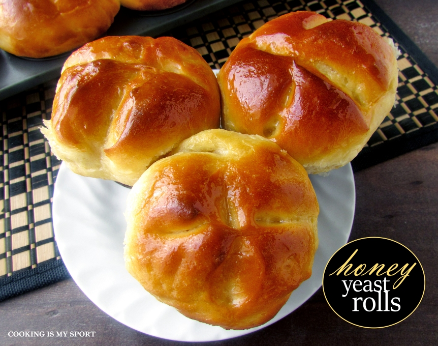 Honey Yeast Rolls5