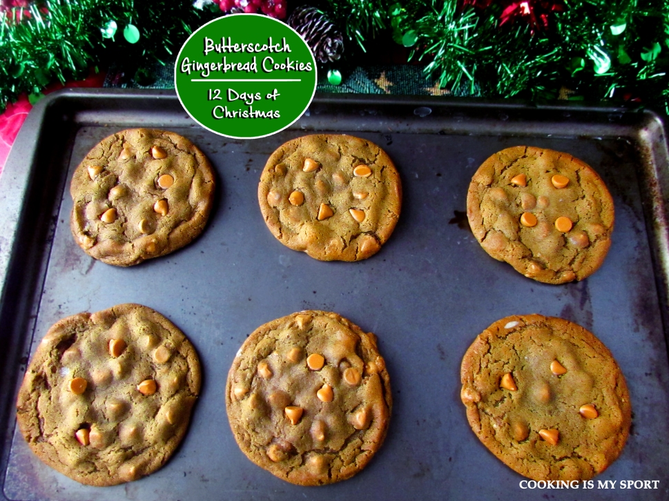 Butterscotch Gingerbread Cookies1