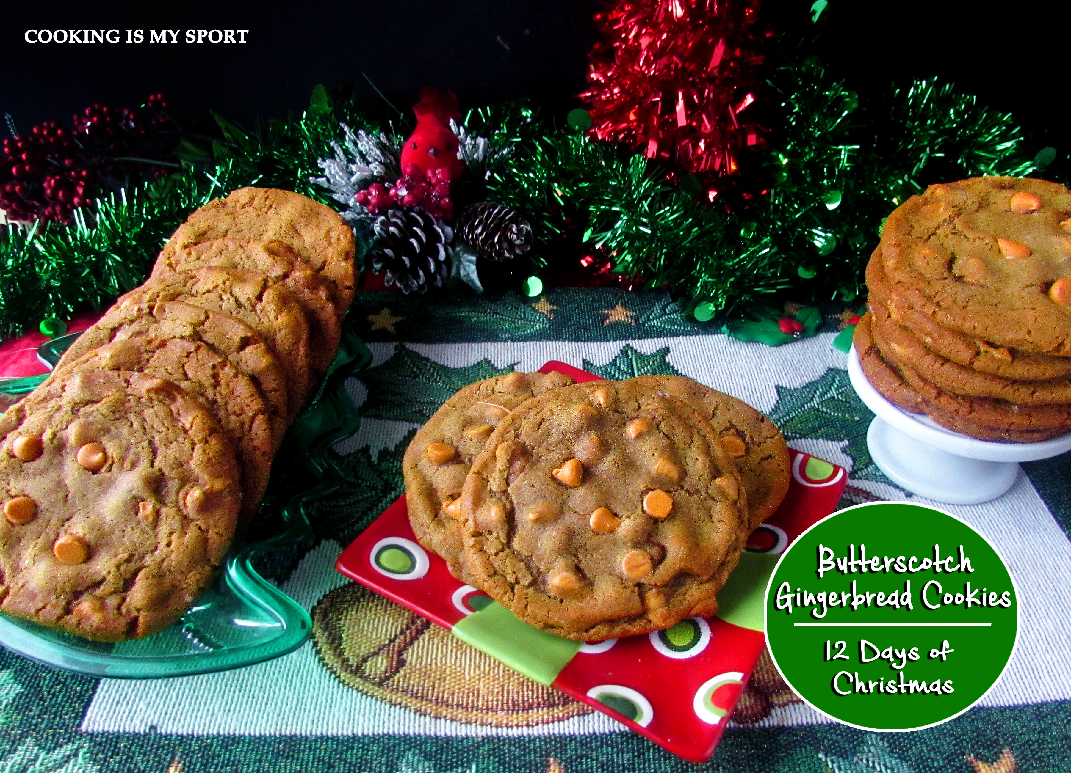 Butterscotch Gingerbread Cookies4