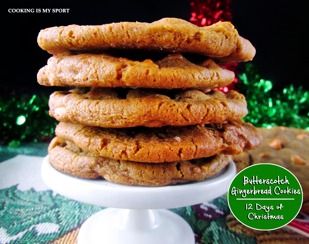 Butterscotch Gingerbread Cookies6