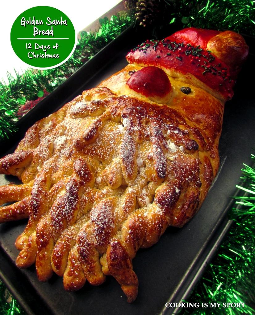 Golden Santa Bread1