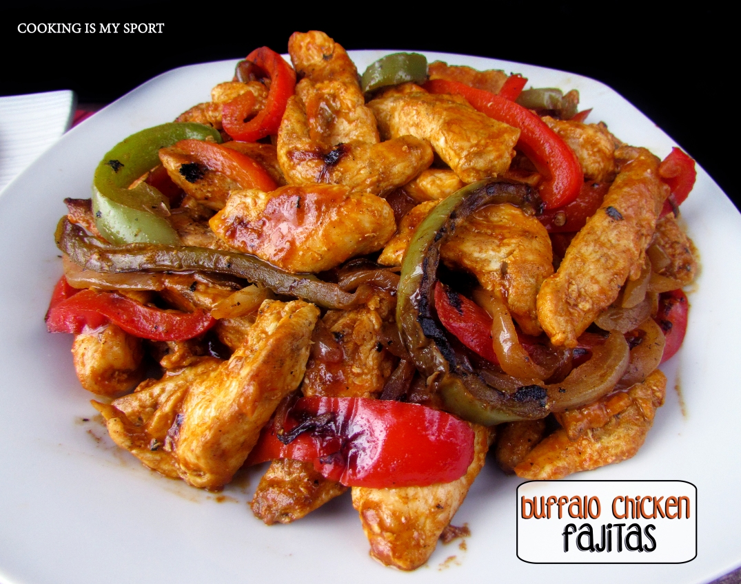 Buffalo Chicken Fajitas4