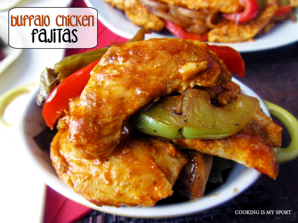 Buffalo Chicken Fajitas5