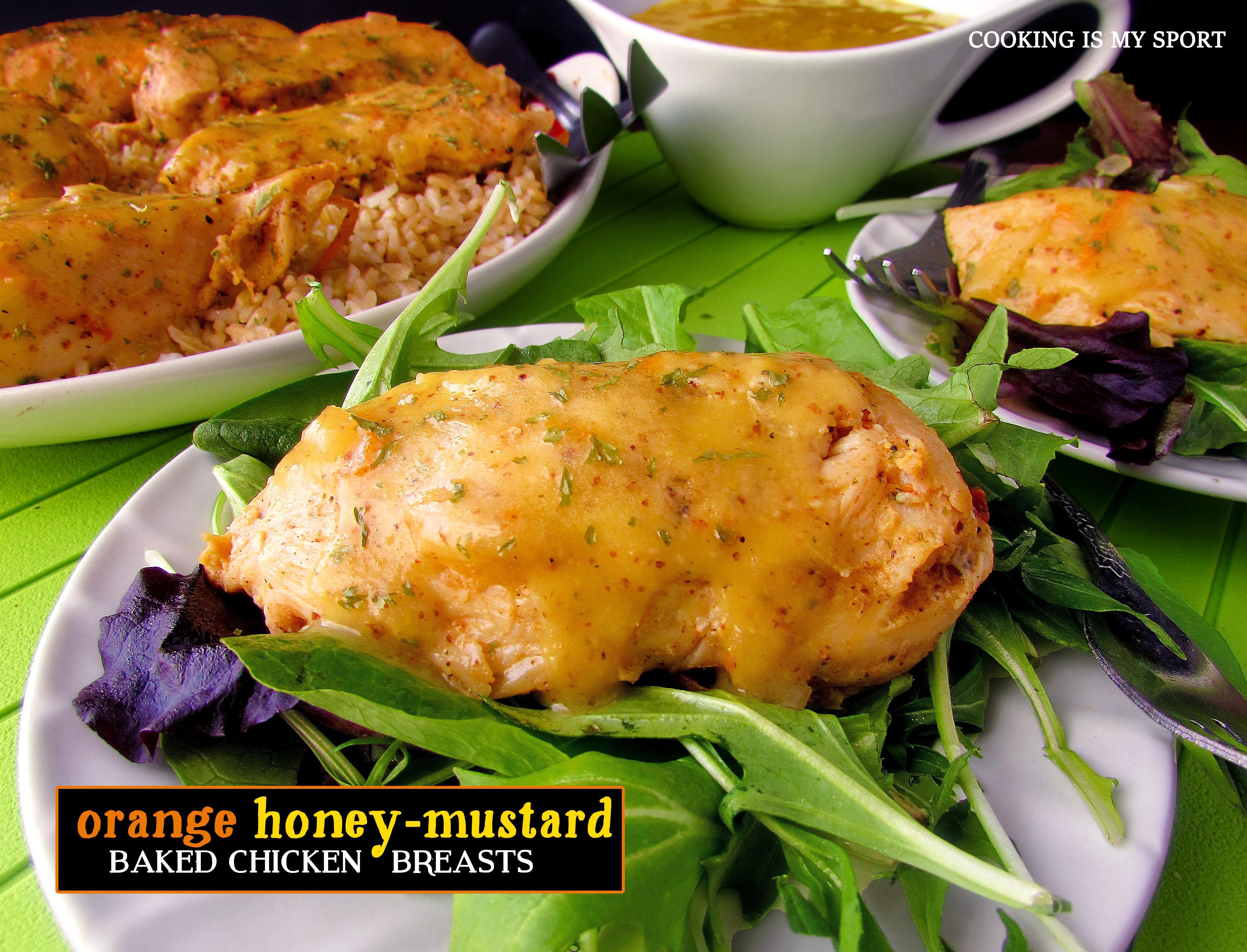 Orange Honey Mustard Chicken Breasts1