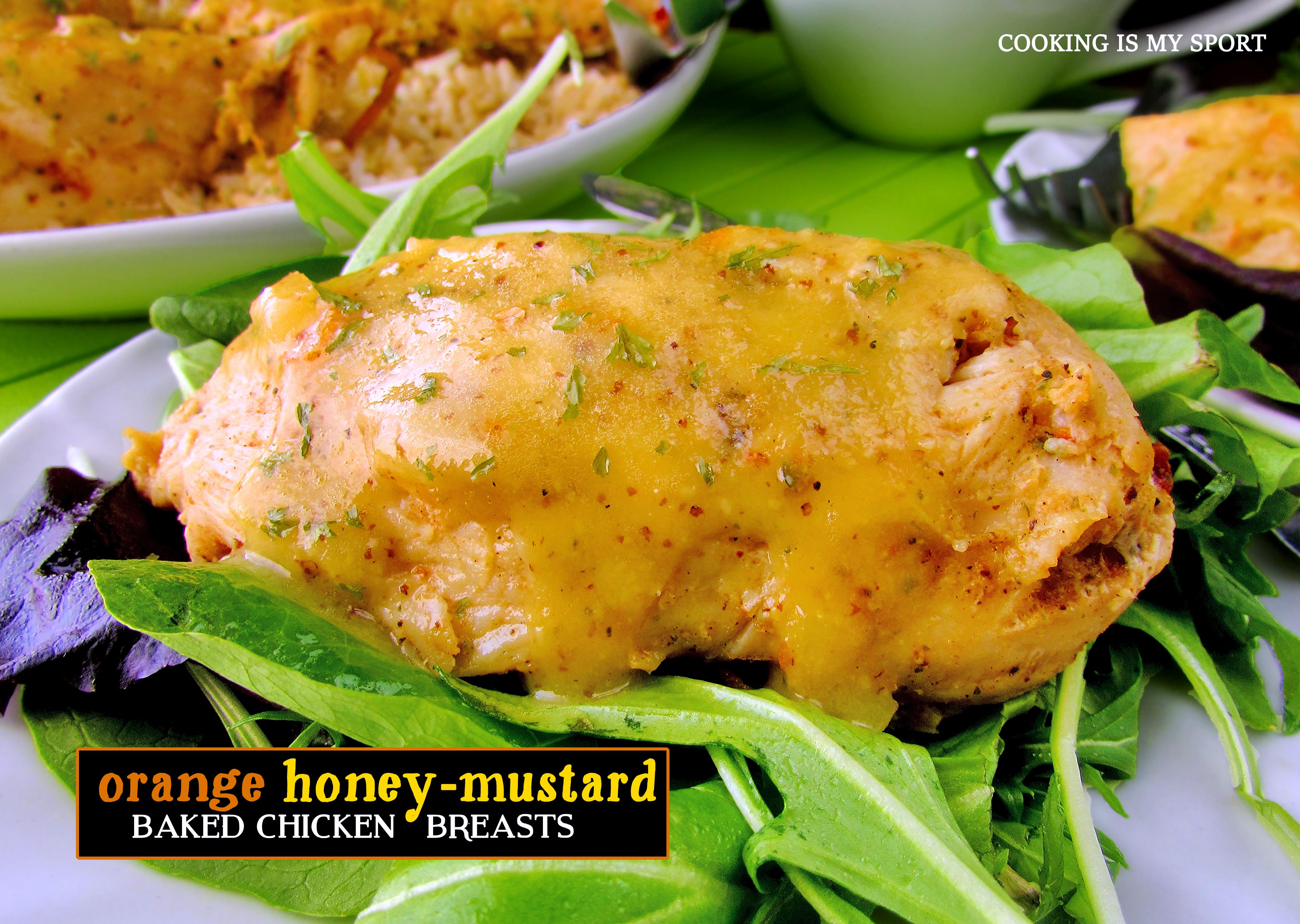 Orange Honey Mustard Chicken Breasts2