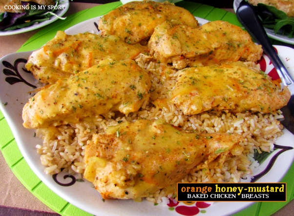 Orange Honey Mustard Chicken Breasts3