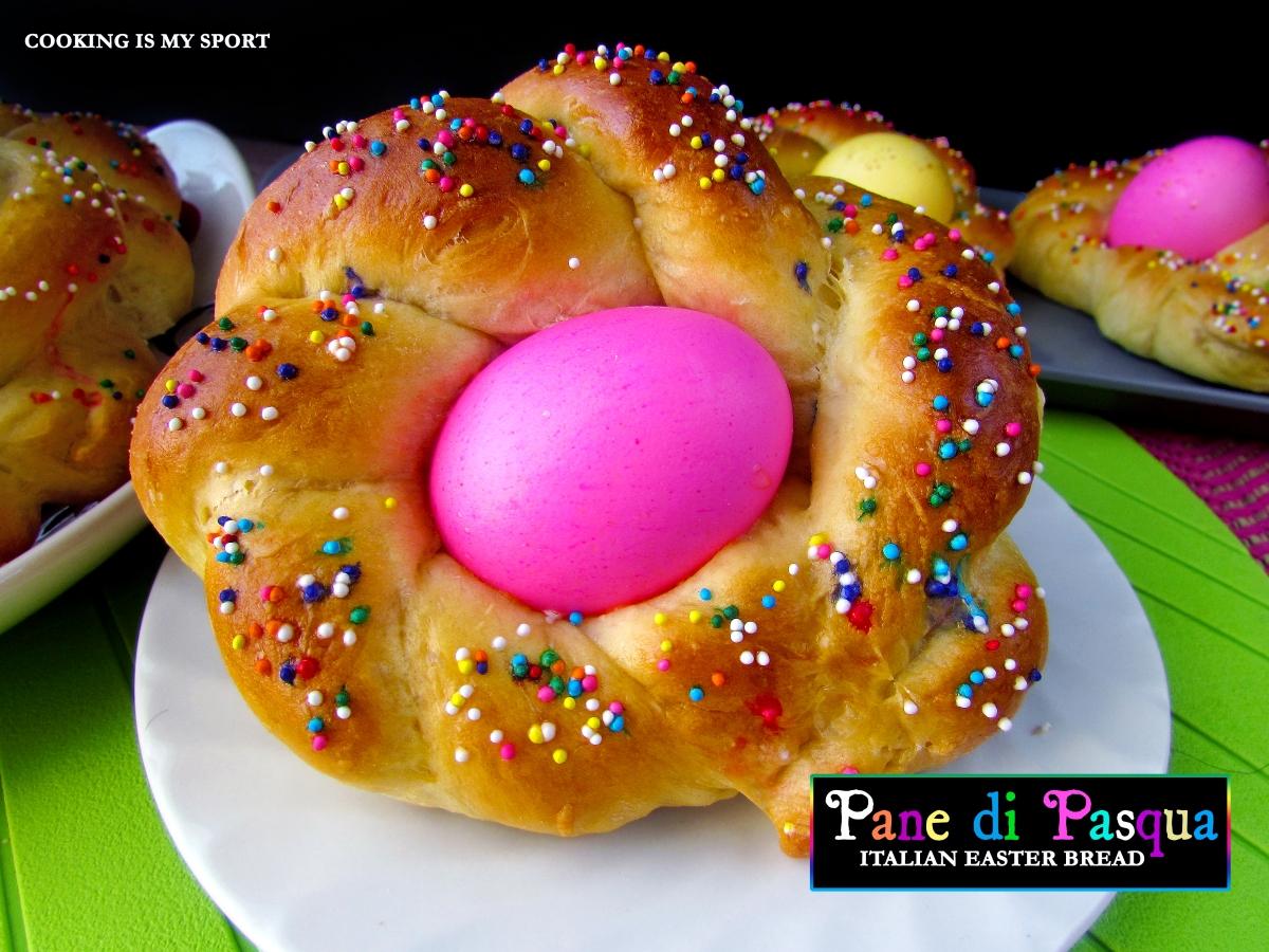 Pane di Pasqua {Italian Easter Bread}