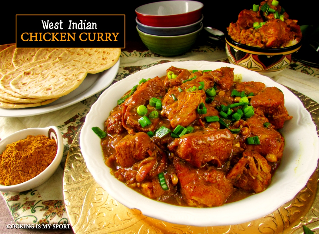 West Indian Chicken Curry1