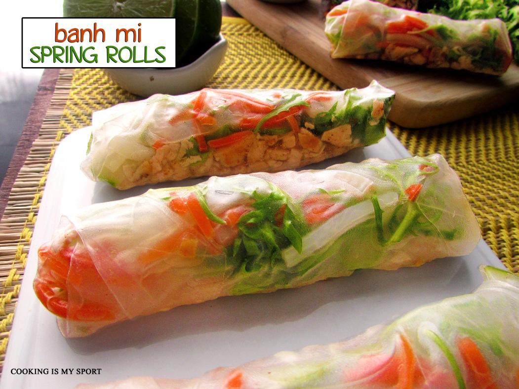 Banh Mi Spring Rolls1