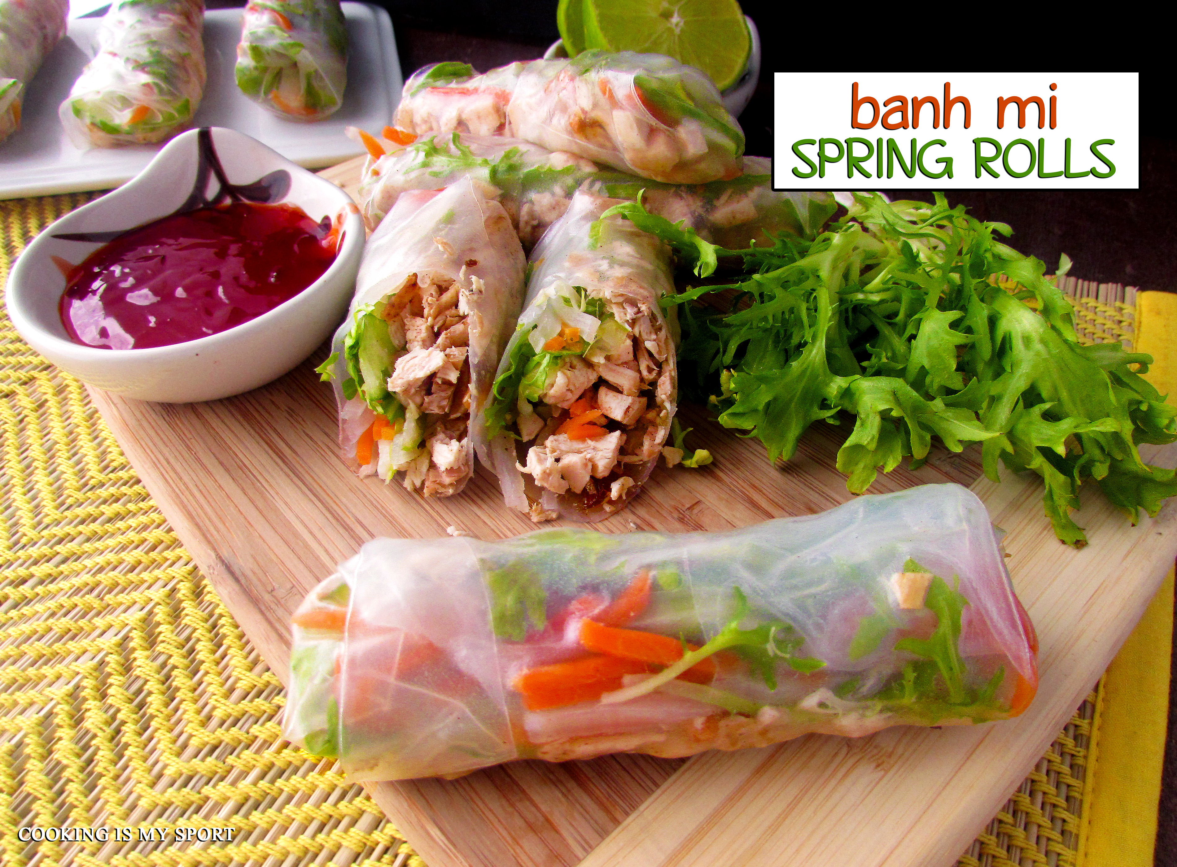 Banh Mi Spring Rolls5