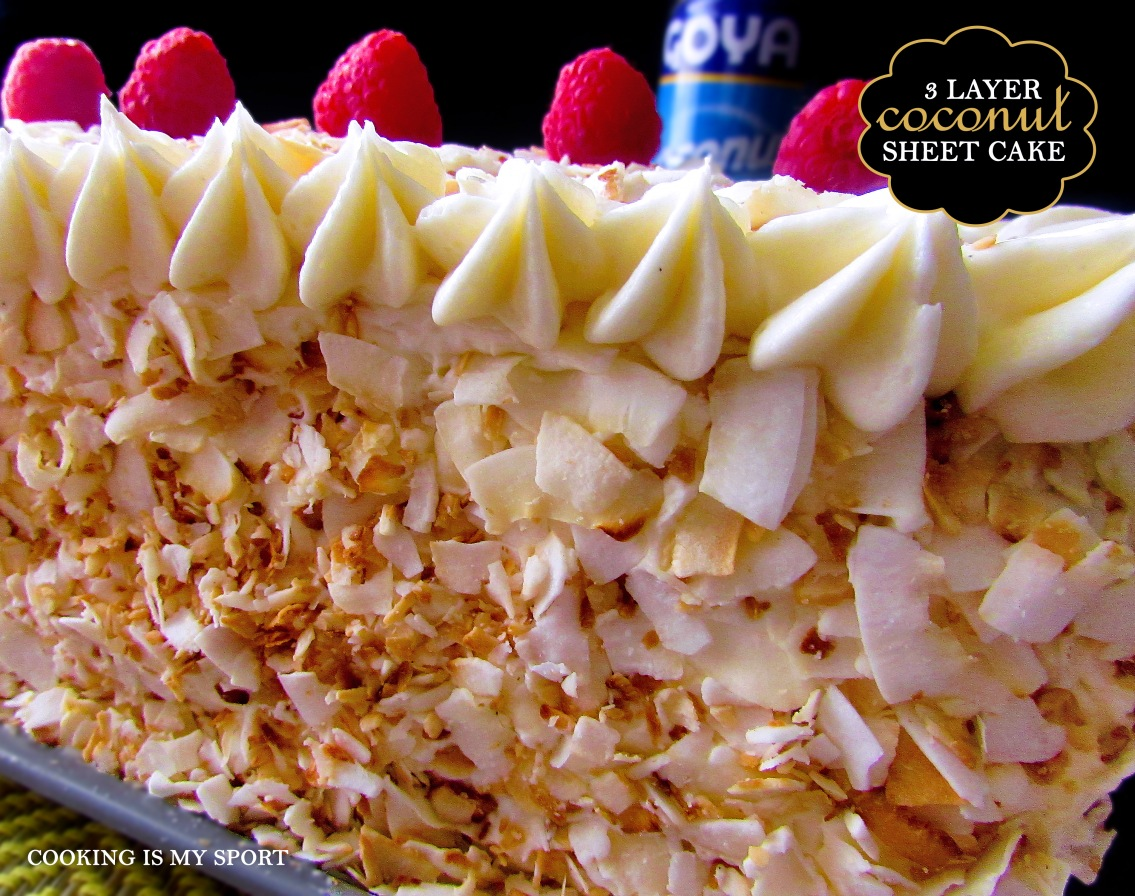 Three Layer Coconut Sheet Cake2
