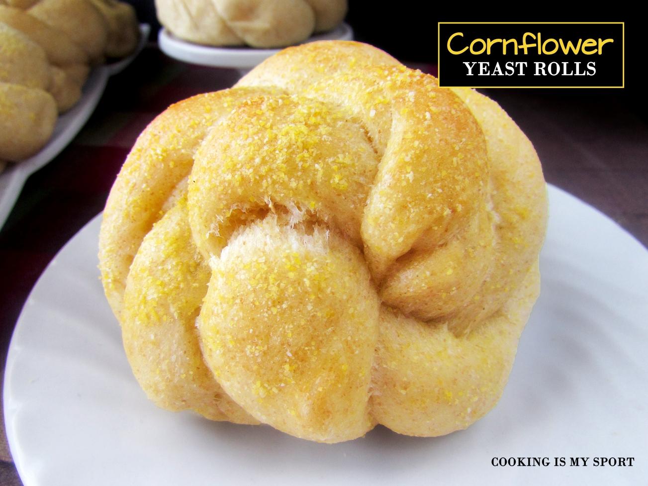 Cornflower Yeast Rolls3