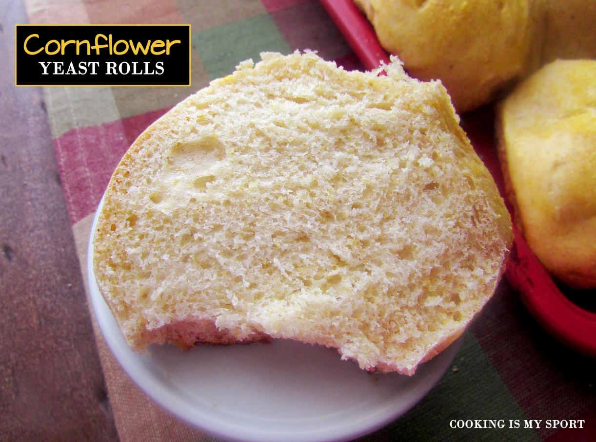 Cornflower Yeast Rolls6