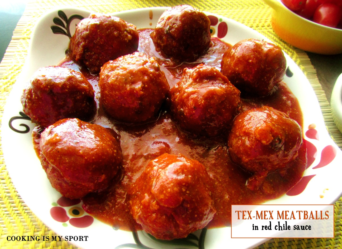 Tex-Mex Meatballs | Cooking Is My Sport