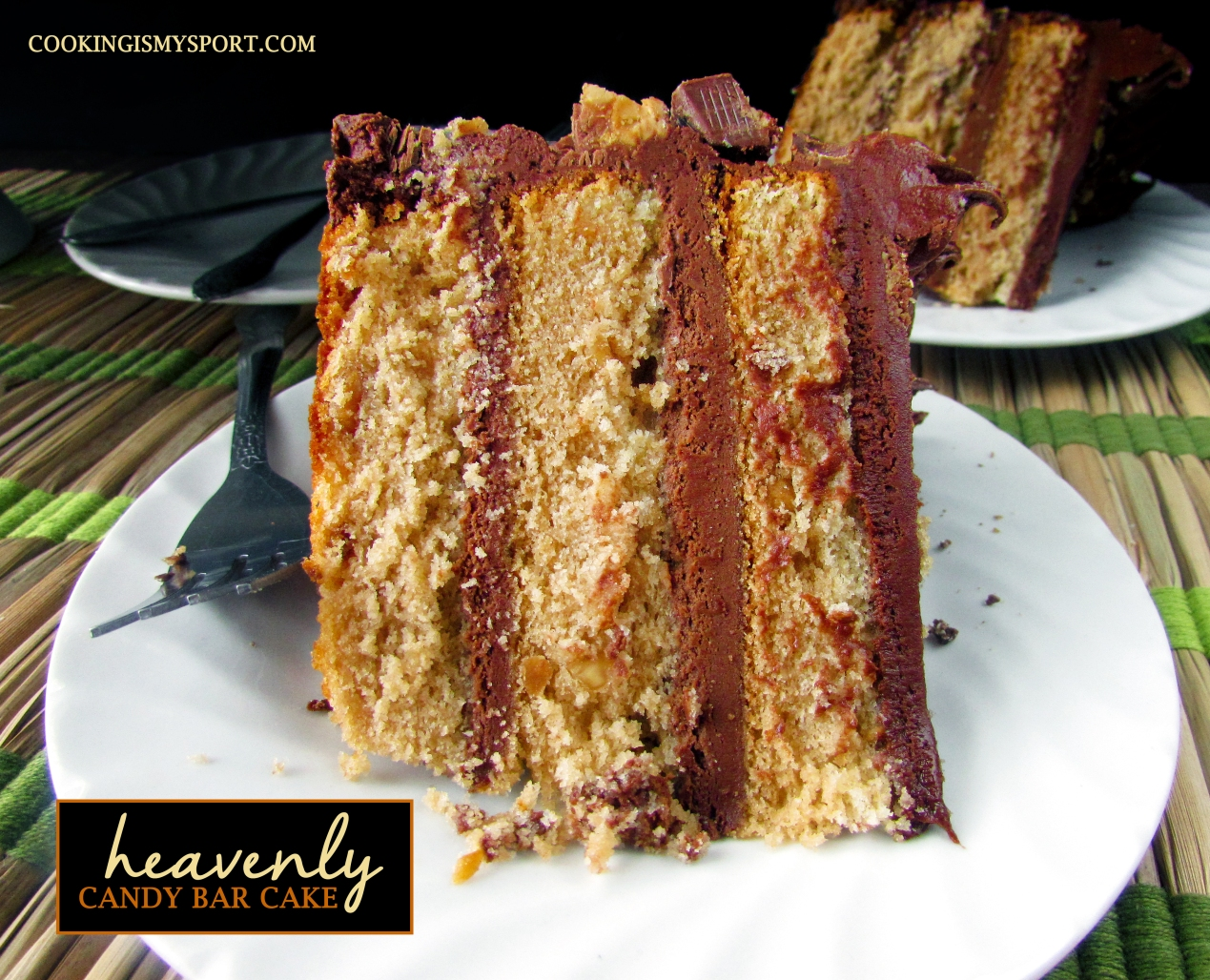 Candy Bar Cake1