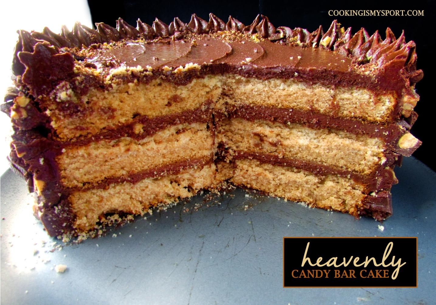 Candy Bar Cake2