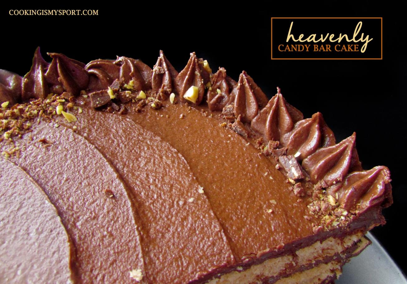 Candy Bar Cake4