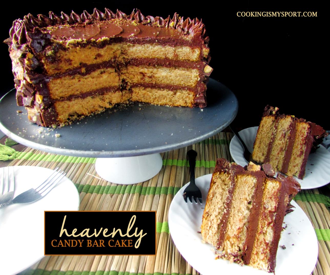 Candy Bar Cake5
