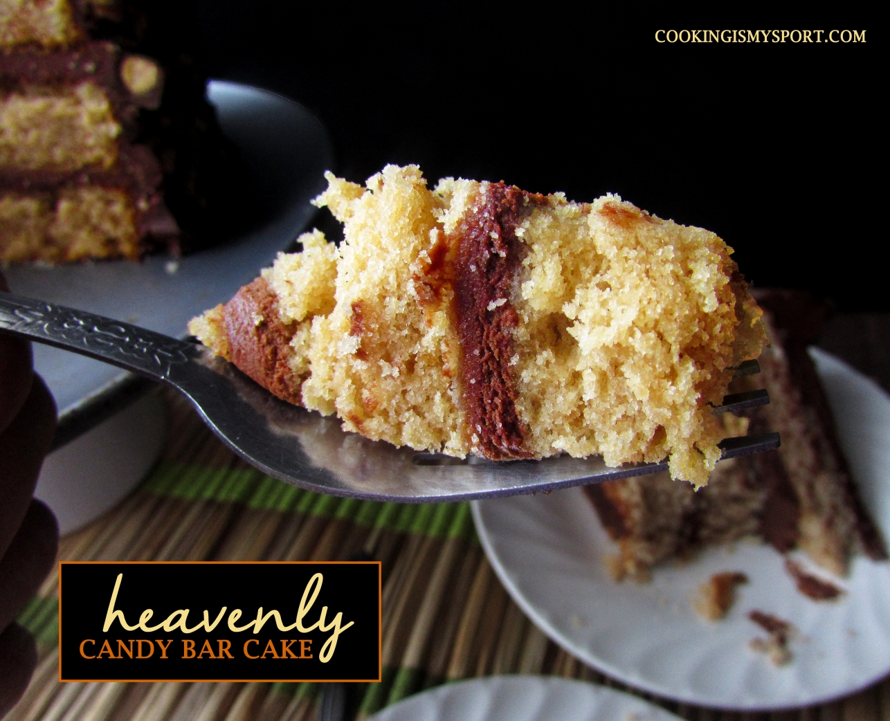 Candy Bar Cake6