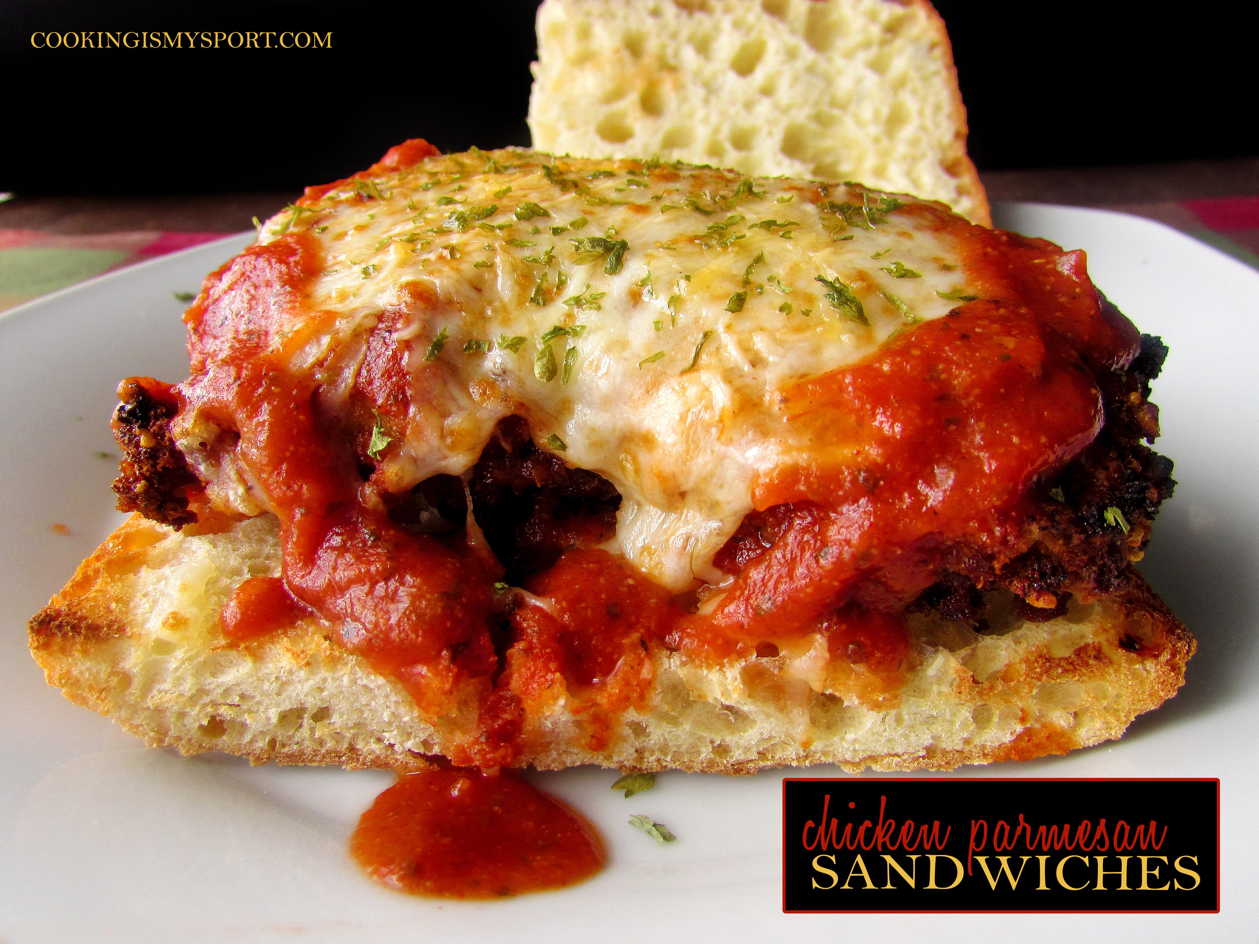 Chicken Parm Sandwiches1