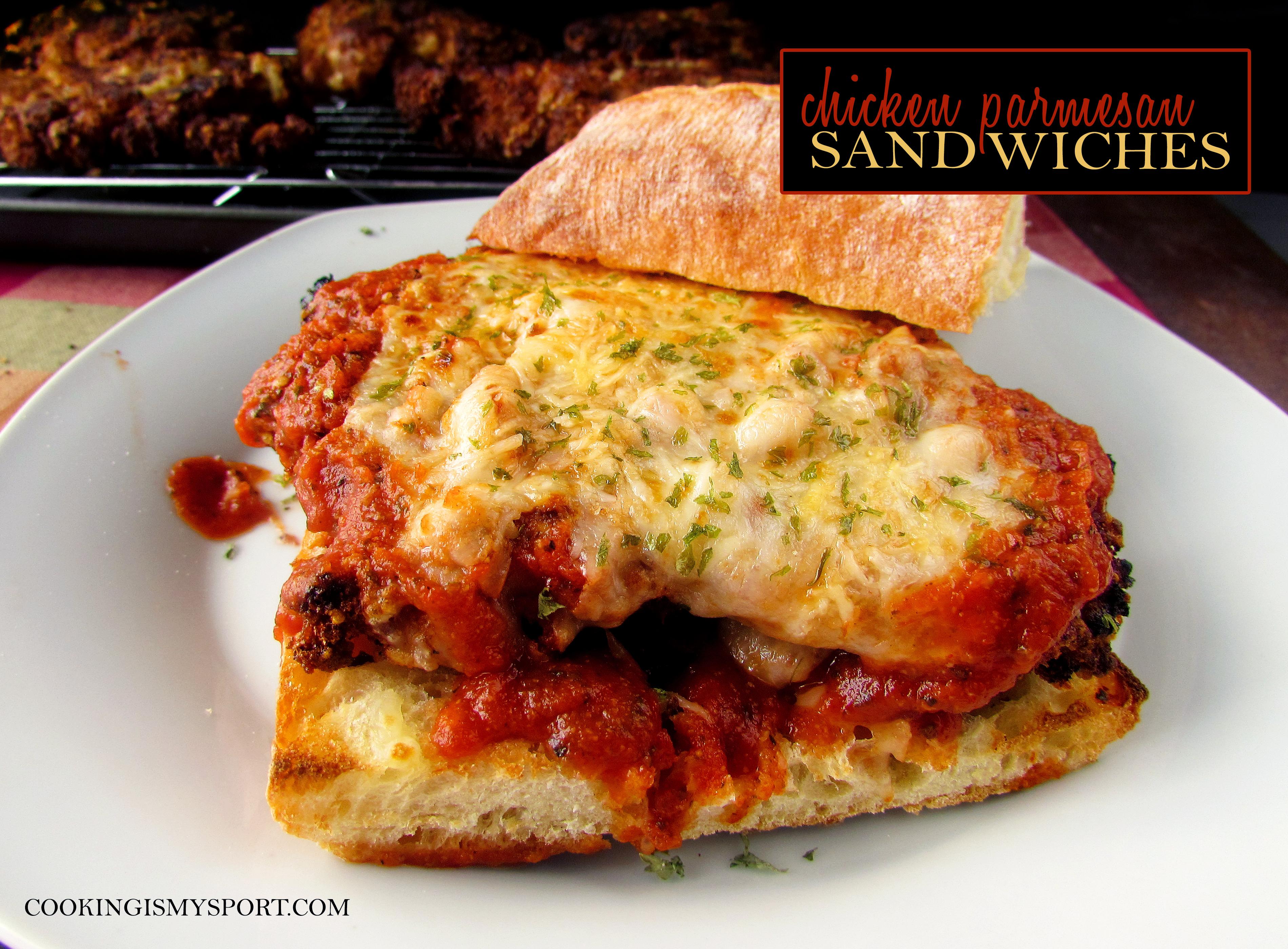 Chicken Parm Sandwiches7