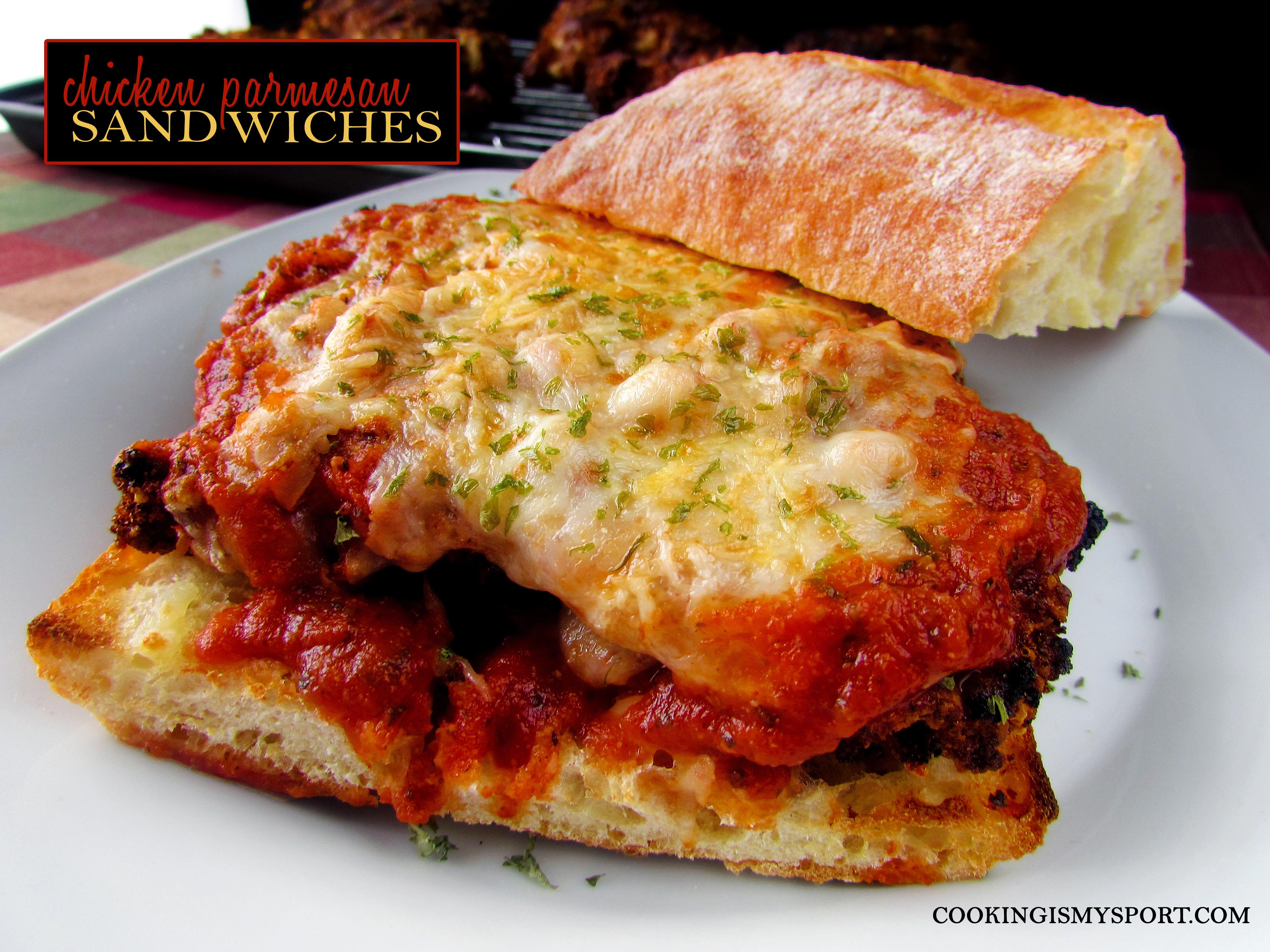Chicken Parm Sandwiches8