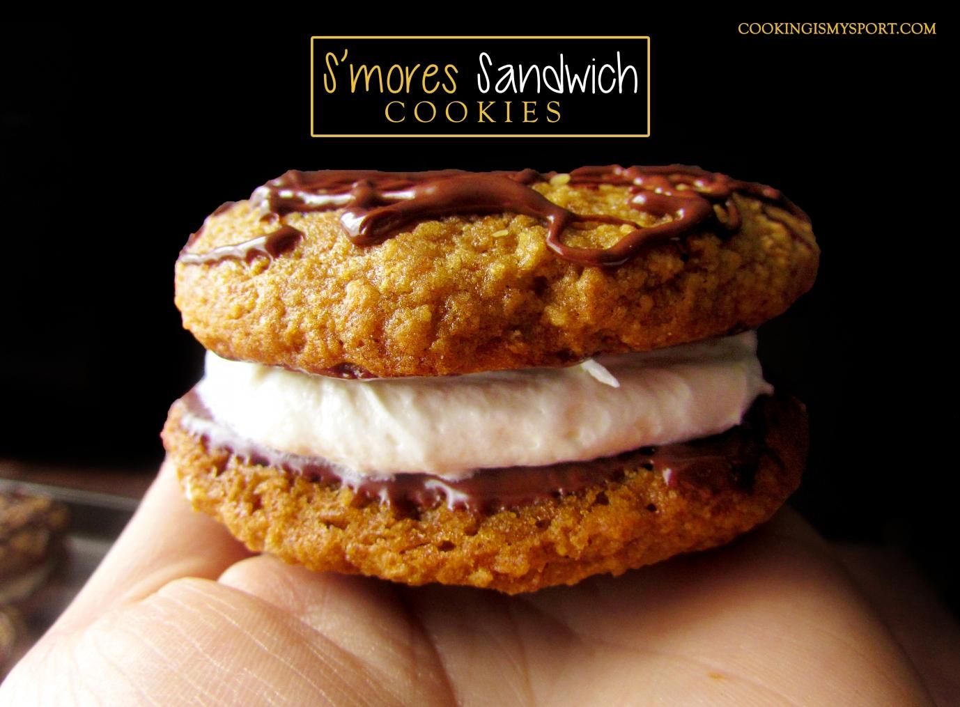 S'mores Sandwich Cookies3