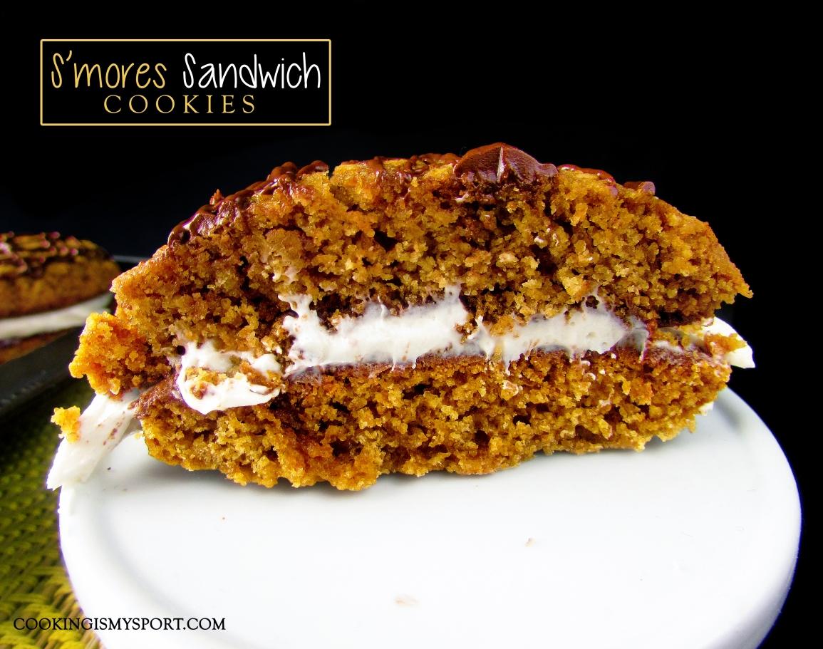 S'mores Sandwich Cookies6