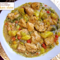 My Favorite Thick and Chunky Chicken Stew