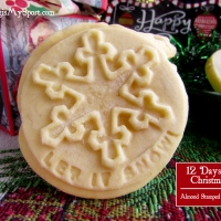 Almond Stamped Cookies