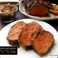 Oven Roasted Tri-Tip Steak