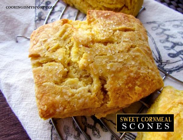 Sweet Cornmeal Scones5