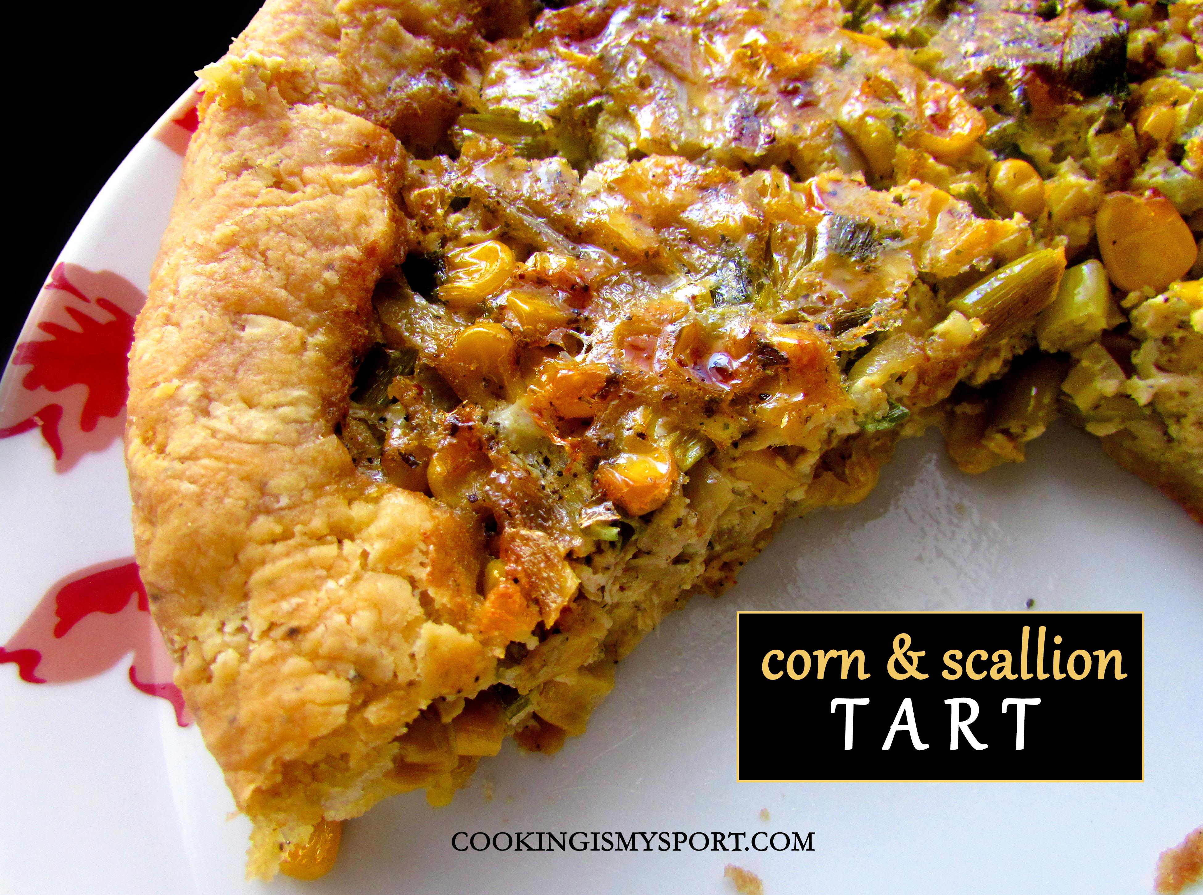 Corn and Scallion Tart3
