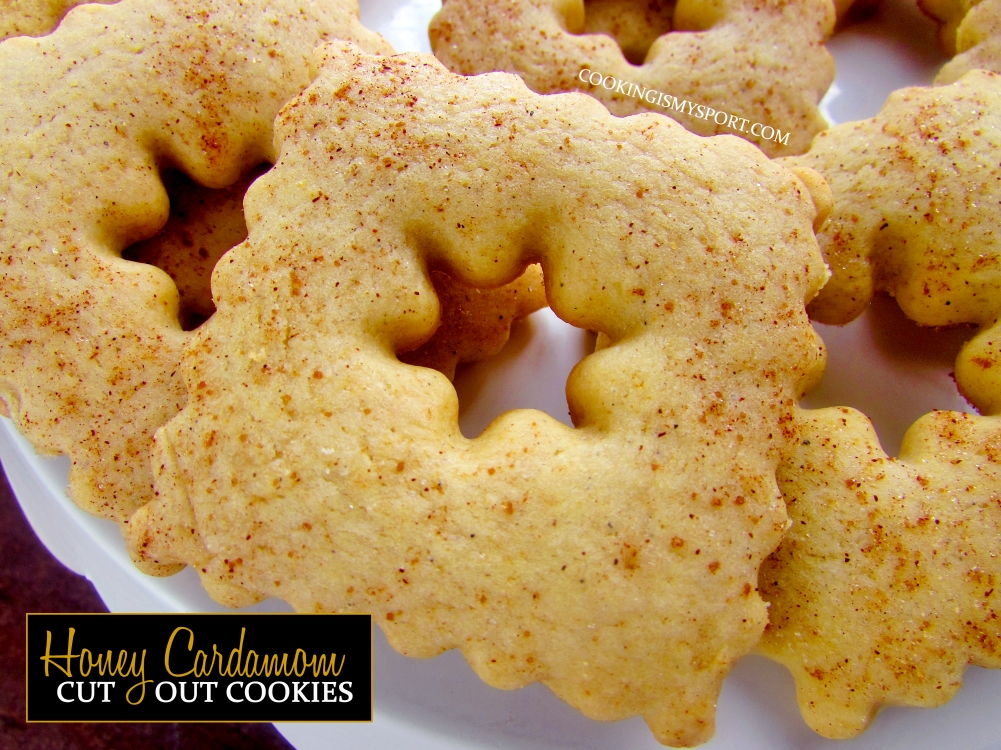 Honey Cardamom Cut Out Cookies Cooking Is My Sport