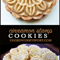 Cinnamon Stamped Cookies